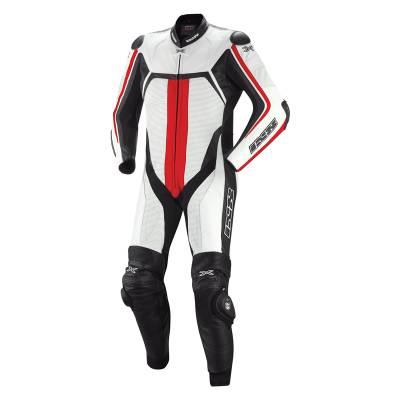 iXS Kombi Thruxton, weiß-schwarz-rot