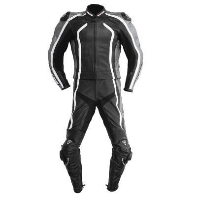 iXS Revolution Kombi - 2teiler, schwarz-weiß-grau
