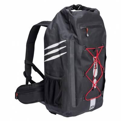 iXS Rucksack TP Backpack 1.0, schwarz-rot, 20 Liter