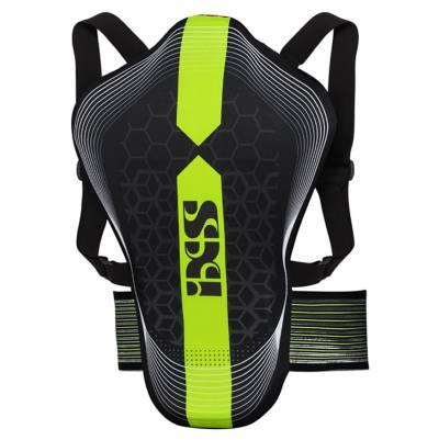 iXS Rückenprotektor RS-10, schwarz-fluogrün