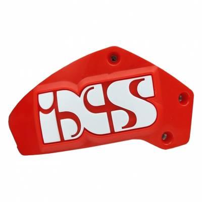iXS Schleifer Set Schulter RS-1000, weiß-weiß-rot