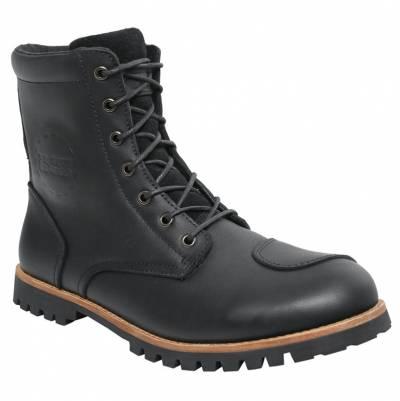 iXS Schuhe Classic Oiled Leather, schwarz