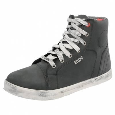 iXS Schuhe Classic Sneaker Nubuk-Cotton, schwarz