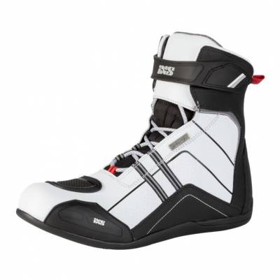 iXS Schuhe RS-300 ST, schwarz-weiß