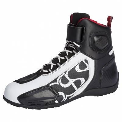 iXS Schuhe RS-400 kurz, schwarz-weiß