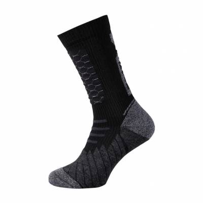 iXS Socken 365 kurz, schwarz-grau