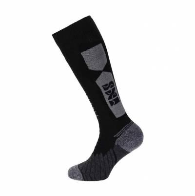 iXS Socken 365 lang, schwarz-grau