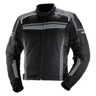 iXS Textiljacke Alloy, schwarz-grau (B-Ware)