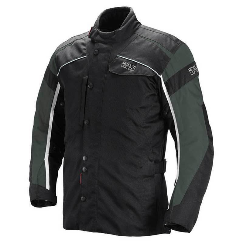iXS Textiljacke Elder, schwarz-grau-weiß (B-Ware)
