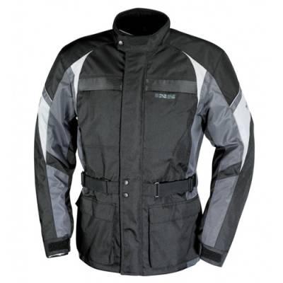 iXS Textiljacke Evasion, schwarz-grau (B-Ware)
