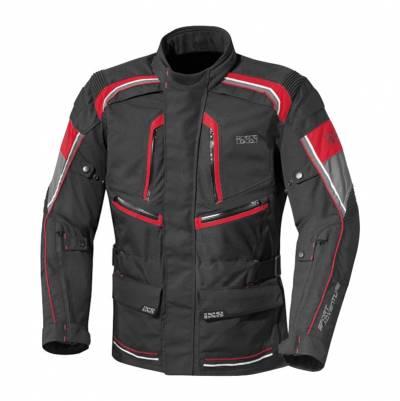 iXS Textiljacke Forras, schwarz-grau-rot