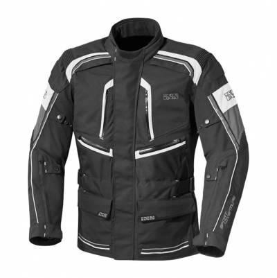 iXS Textiljacke Forras, schwarz-weiß