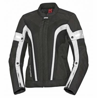 iXS Textiljacke Larissa Air 2.0, schwarz-weiß
