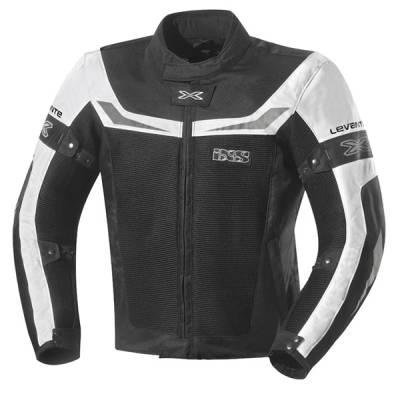 iXS Textiljacke  Levante, schwarz-weiß
