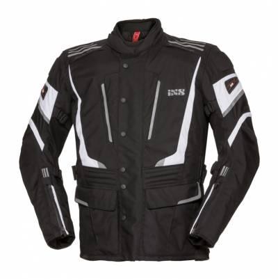 iXS Textiljacke Powells-ST, schwarz-weiß
