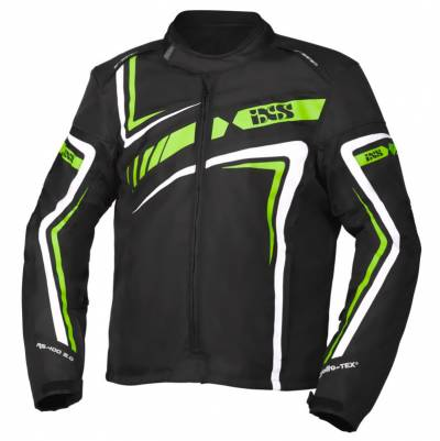 iXS Textiljacke RS-400-ST 2.0, schwarz-grün-weiss