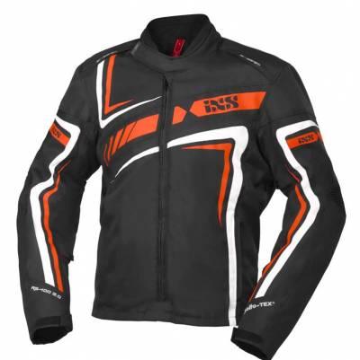 iXS Textiljacke RS-400-ST 2.0, schwarz-orange-weiss