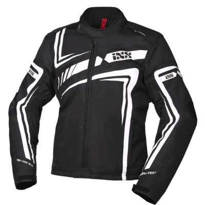 iXS Textiljacke RS-400-ST 2.0, schwarz-weiß