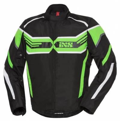 iXS Textiljacke RS-400-ST, schwarz-grün-weiß