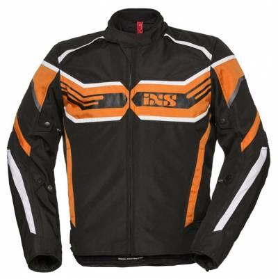 iXS Textiljacke RS-400-ST, schwarz-orange-weiß