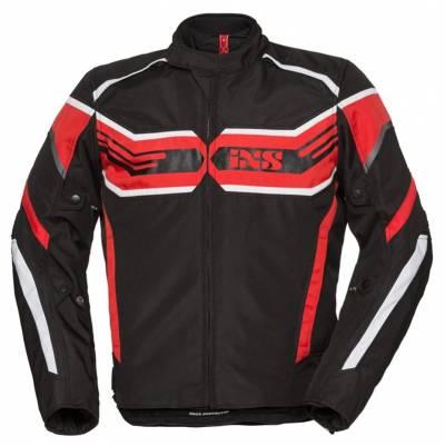 iXS Textiljacke RS-400-ST, schwarz-rot-weiß