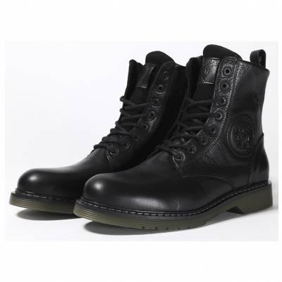 John Doe Damen Schuhe Sixty, schwarz