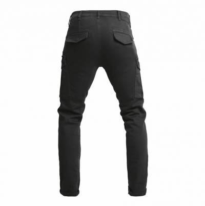 John Doe Jeans Defender Mono slim fit Cargo, schwarz