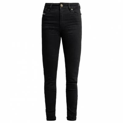 John Doe Jeans Luna High mono, schwarz used