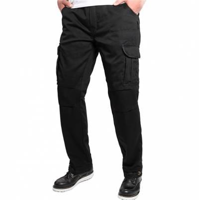 John Doe Jeans Regular Cargo Schwarz