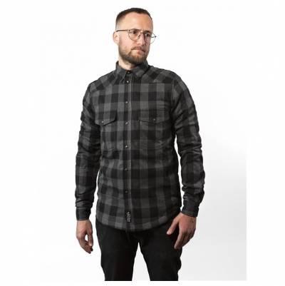 John Doe Motoshirt, grau-schwarz