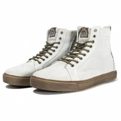 John Doe Schuhe Neo, weiß-braun