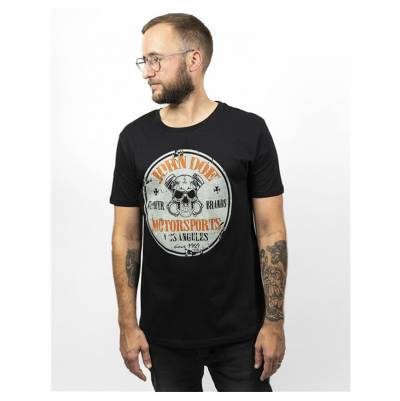 John Doe T-Shirt Rebel, schwarz