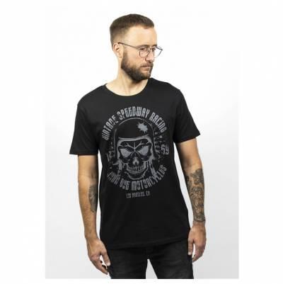 John Doe T-Shirt Skull, schwarz