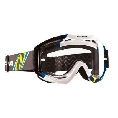 Jopa Crossbrille Venom II, schwarz-blau-fluogelb