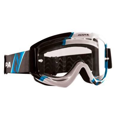 Jopa Crossbrille Venom II, schwarz-weiß-blau