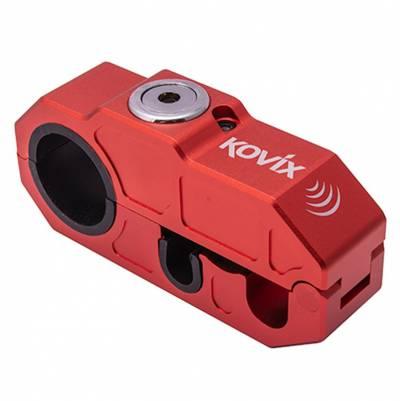 Kovix Alarm-Bremshebelschloss KHL, rot