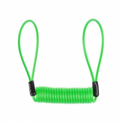 Kovix Lock Reminder - Erinnerungskabel, fluogrün