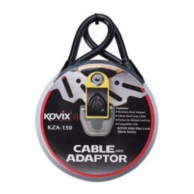 Kovix Sicherheitskabel und Adapterset für KD6, 150 cm