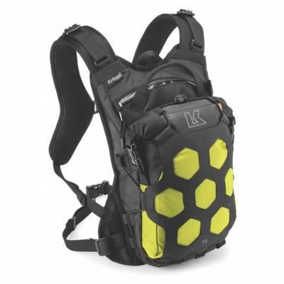 Kriega Rucksack Trail 9, schwarz-gelb
