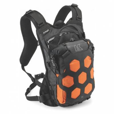 Kriega Rucksack Trail, 9 schwarz-orange