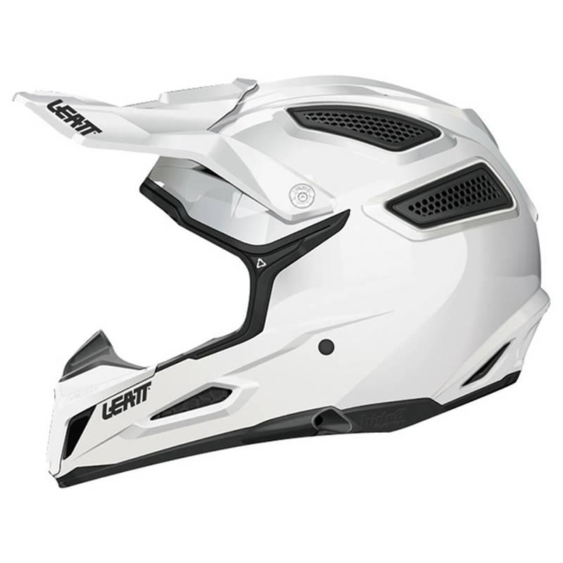 Leatt Helm 5.5 Comp Solid, weiß