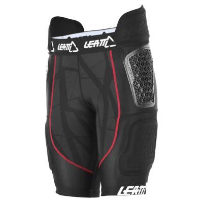 Leatt Impact Shorts GPX 5.5 Airflex, schwarz-rot