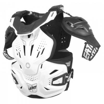 Leatt Neck Vest Fusion 3.0, weiß-schwarz