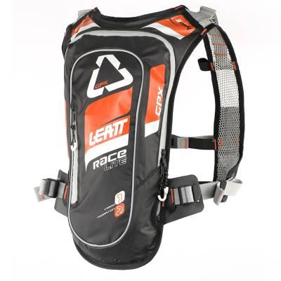 Leatt Trinkrucksack GPX Race HF, 2 Liter, orange-schwarz