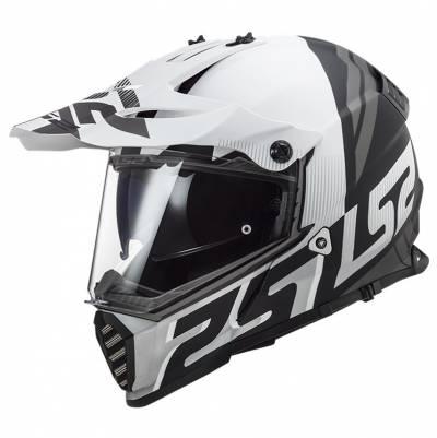 LS2 Helmets Endurohelm Pioneer Evo Evolve MX436, weiß-schwarz matt