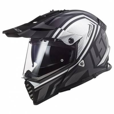 LS2 Helmets Endurohelm Pioneer Evo Master MX436, titan matt