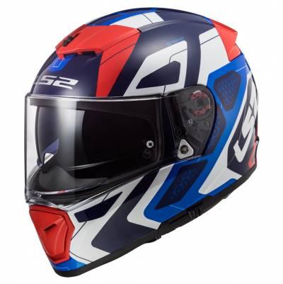 LS2 Helmets Helm Breaker FF390 Android, blau-rot-weiß