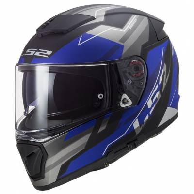 LS2 Helmets Helm Breaker FF390 Beta, blau matt