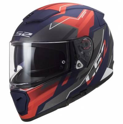 LS2 Helmets Helm Breaker FF390 Beta, rot-blau matt