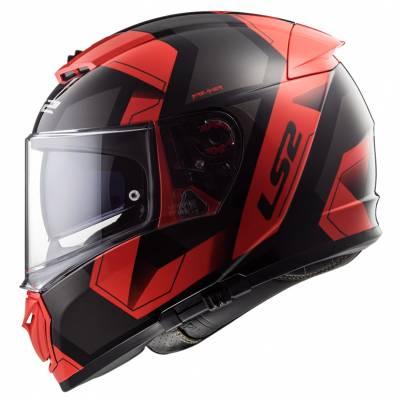 LS2 Helmets Helm Breaker FF390 Physics, schwarz-rot